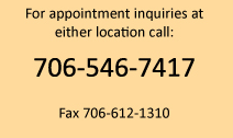 Call Athens Podiatry for Appointments